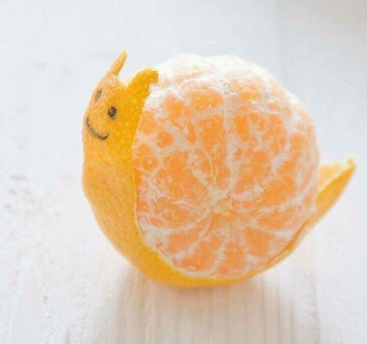 Mandarina: rica y divertida